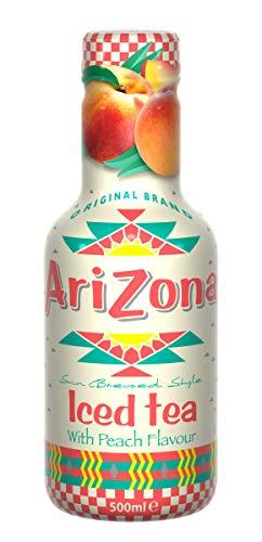 AriZona Iced Peach Tea, 500 ml