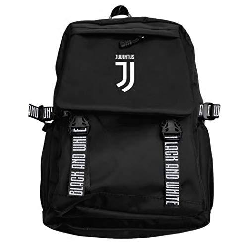 JUVENTUS - Borsa Zaino Sport con cinghie Black and White