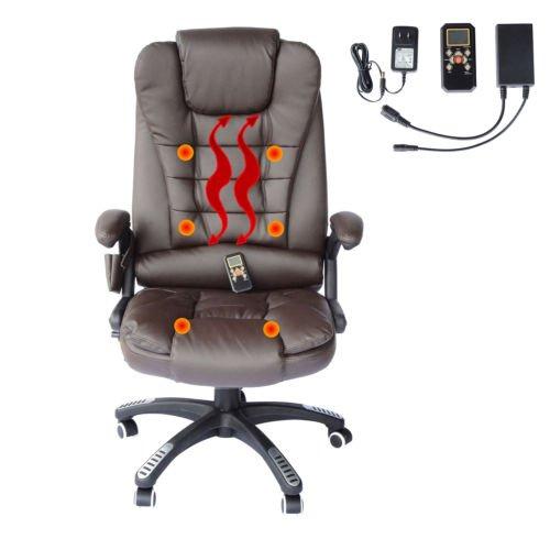 Home Office Computer Desk Massage Chair