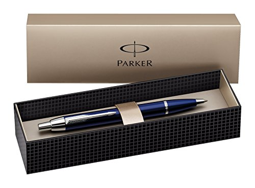 Parker I.M. Blu Clip-on retractable ballpoint pen Medio 1 pezzo(i)