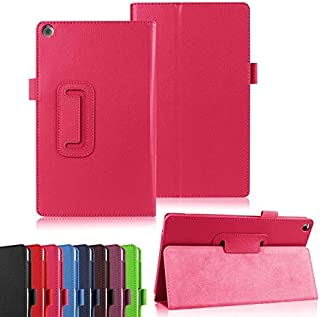 Tablets & e-Books Case - Business PU Leather Case Cover for Zenpad 8.0 Z380 Z380KL Z380C Tablet with Stand Holder + Clear ...