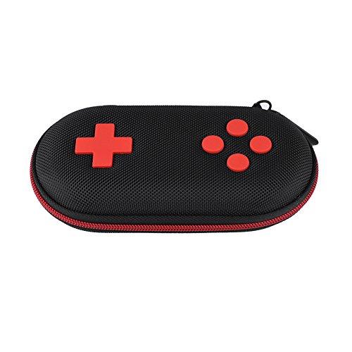 Bewinner Schutzhülle für Classic Controller, tragbare Gamepad-Hülle Mini-Aufbewahrungstasche für die Reise im Freien mit EVA-Hartschalen-Box-Halter Schutzhülle für den Gamepad