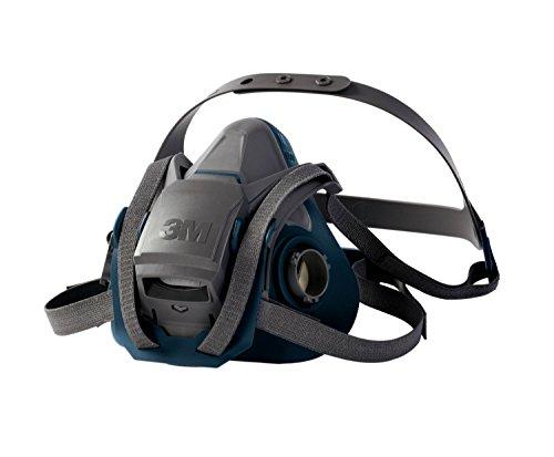 3M 6502QL - 6502 Media Máscara 6500 QL Mediana (silicona), Certificado de seguridad EN
