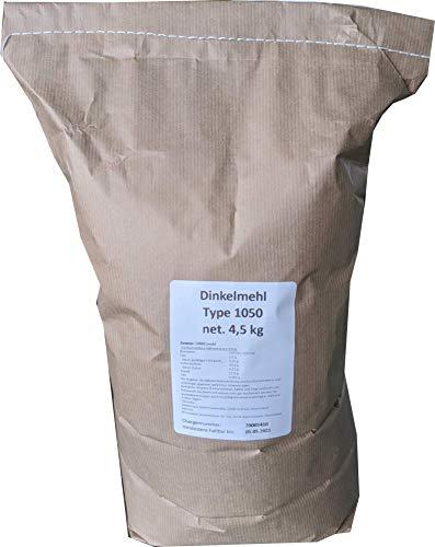 4,5 kg Dinkelmehl Type 1050 4,89€/kg -feines Dinkel Brotmehl-