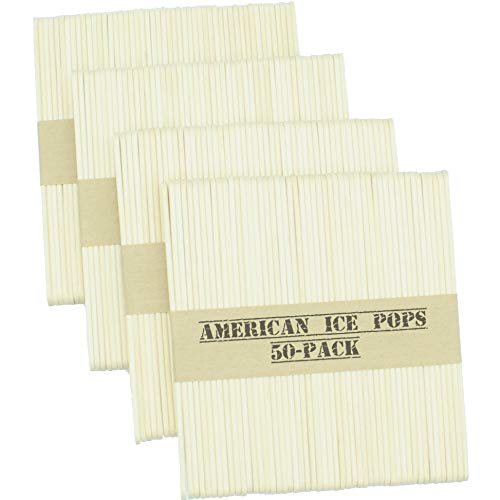 American Ice Pop Maker - Frozen Popsicle Mold...