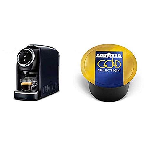 Lavazza Blue Classy Mini Single Serve Espresso Coffee Machine LB 300 with Gold Selection Coffee Capsules (Pack Of 100)