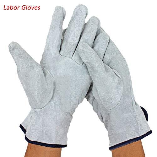1pair Industrie Fahrer Gartenarbeit schwer tragen schweißen arbeitssicherheit die Handschuhe handschutz