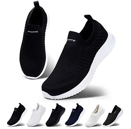 ナースシューズ スリッポン レディース スニーカー 通気性 軽量 ウォーキングシューズ 白 黒 美脚 看護師 作業靴
