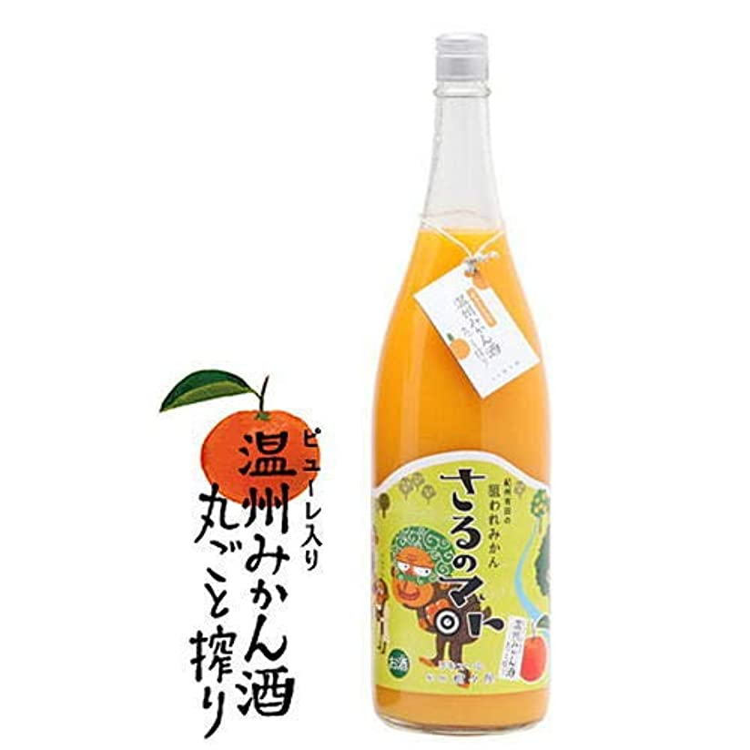 シャワー飛ぶレコーダー温州みかん酒(丸ごと搾り) 1.8L [ リキュール 1800ml ]