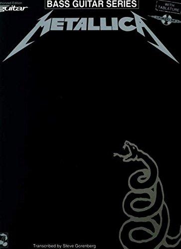 Metallica: (black) for Bass [Lingua inglese]