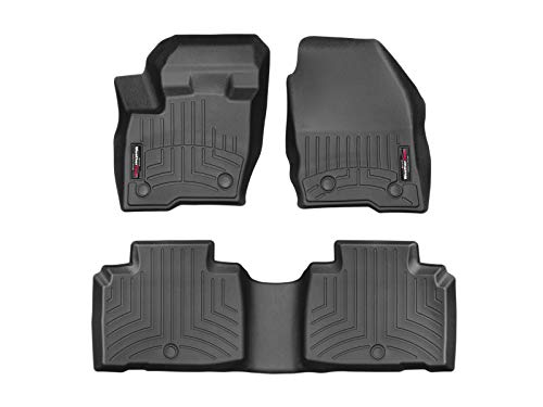 WeatherTech Custom Fit FloorLiner for MKX/Nautilus - 1st & 2nd Row (Black)