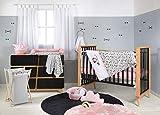 Disney - Juego de ropa de cama para bebé, diseño de Minnie Mouse