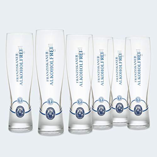 Franziskaner - Vasos de Cerveza de Trigo (6 Unidades, 0,5 L)
