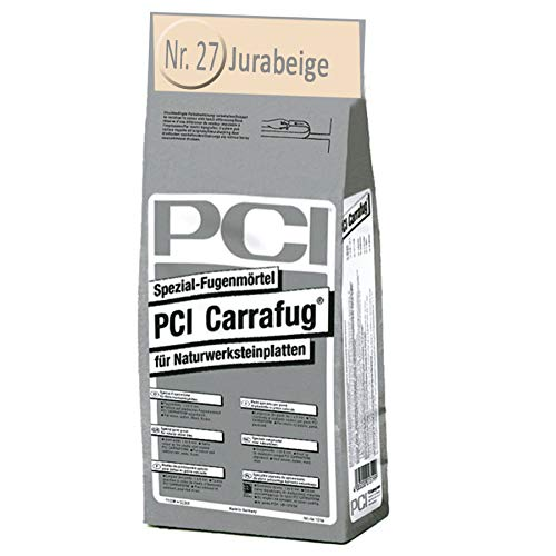 PCI-CARRAFUG 5 KG JURABEIGE FÜR NATURWERKSTEINE