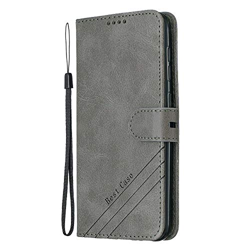 Stylish PU leather wallet case made for Samsung Galaxy A20e (A202) / Galaxy A10e (A102) With card holders and money pocket, carry around your credit / debit cards, ID card and cash without taking an extra wallet Built-in stand feature convenient for ...