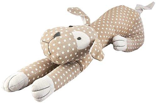 TW0297 Klei & Eef - Pluche dier - Knuffel - Hond - Natuurlijk - Sterren ca. 28,4 x 7,9 x 6,7 inch