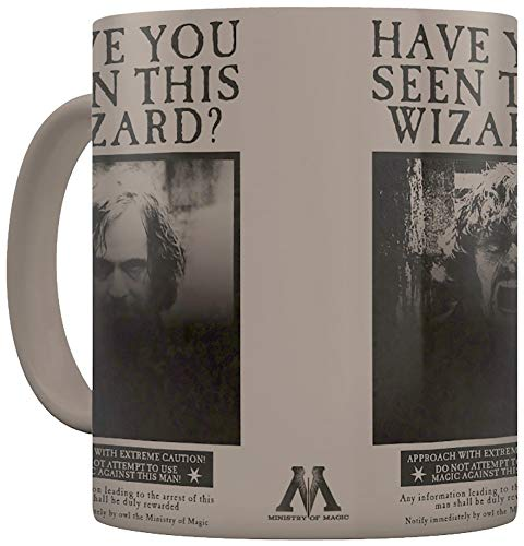 Harry Potter (Wanted Sirius Black) 11oz/315ml Tasse Changeante