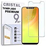 REY / Protector de Pantalla para BLACKVIEW A30, Cristal Vidrio Templado Premium