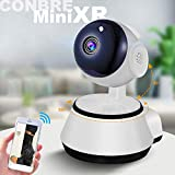 Conbre V380 Home and Office HD Security Camera System with Wireless Connectivity, P2P Night Vision, IR Surveillance Camera and Supports up to 64gb SD Card