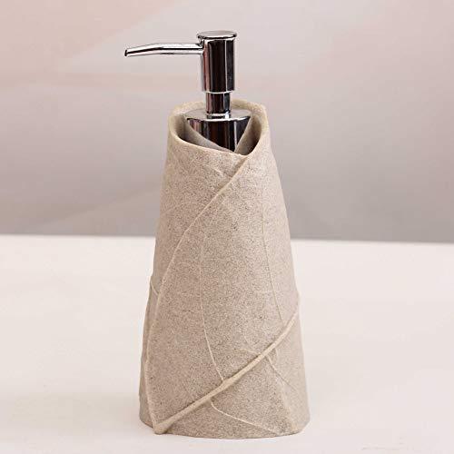 CGMY Hände waschen Flüssigflasche Keramik Seifenspender Hotel Duschraum Duschgel Shampoo Flaschen