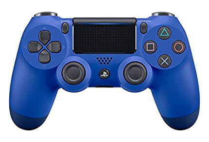 Sony DualShock 4 Gamepad Playstation 4 Azul - Volante/Mando (Gamepad, Playstation 4, Analógico/Digital, D-Pad, Hogar, Seleccionar, Inicio, Inalámbrico y alámbrico, Bluetooth/USB)