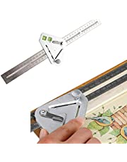 Measuring Tool, Better Tool, Angle Ruler A Revolutionary Carpentry Tool, Woodworking Triangle Ruler, Multi-function Measuring