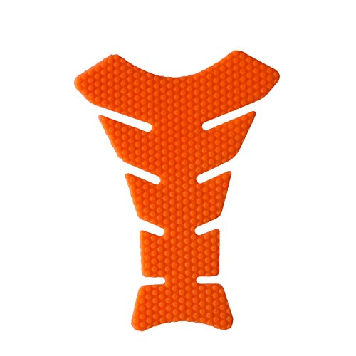 NEX Performance Motorcycle Tank Pad Protector, Universal, Orange