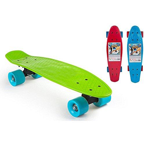 Color Baby Skateboard aus Kunststoff mit PVC-Rad, 53 cm (43142)