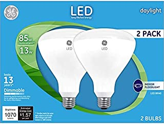 LED dimmable Flood BR40 5000K 2pk