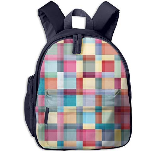 Kinderrucksack Badfarben Babyrucksack Süßer Schultasche für Kinder 2-5 Jahre