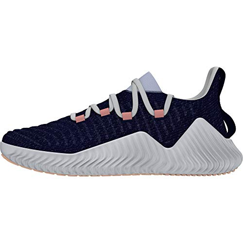 Adidas Alphabounce Trainer W, Zapatillas de Deporte Mujer, Azul (Azuosc/Aeroaz/Narcla 000), 40 EU