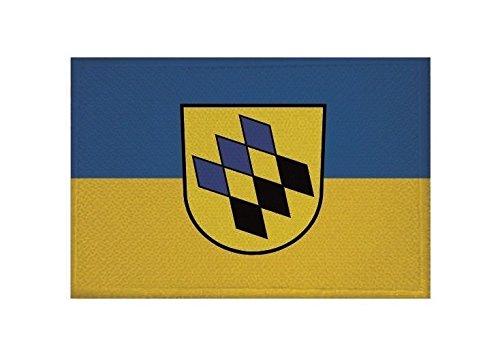 U24 Aufnäher Kernen im Remstal Fahne Flagge Aufbügler Patch 9 x 6 cm