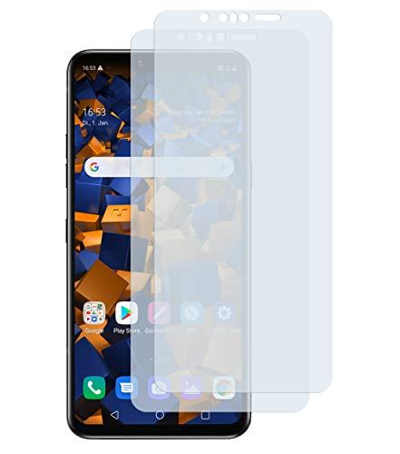 mumbi Schutzfolie kompatibel mit LG G8s ThinQ Folie klar, Displayschutzfolie (2x)
