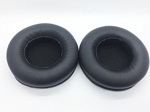 90mm 9 cm Reemplazo cojín de cuero de la pu almohadillas funda de almohada Para Pioneer HDJ-1000 HDJ-1500 HDJ-2000 auriculares estéreo