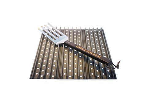 "GrillGrate Sets of 16.25"" Panels (Interlocking) + GrateTool (3)"
