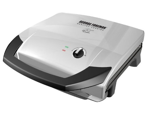 George Foreman ジョージフォアマン 120 Fixed Plate Grill グリル[並行輸入]