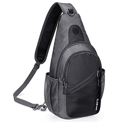 G4Free Sling Bag Chest Shoulder Backpack Multipurpose Fanny Pack Crossbody Gym Daypack for Outdoor Cycling Travel Hiking Unisex