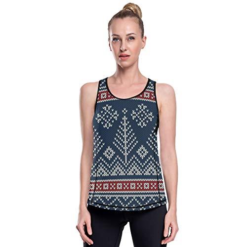 MONTOJ - Camiseta de tirantes de pino, secado rápido, para gimnasio, fitness, correr, culturismo 1 L