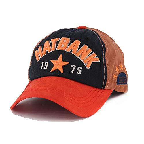 Casquette de BaseballChapeau Cap Marque Top Mode Haute Qualité Adulte Femmes Casquette de Baseball Hip Hop Lettre Réglable Coton Chapeau Chapeaux pour Hommes Bonnet