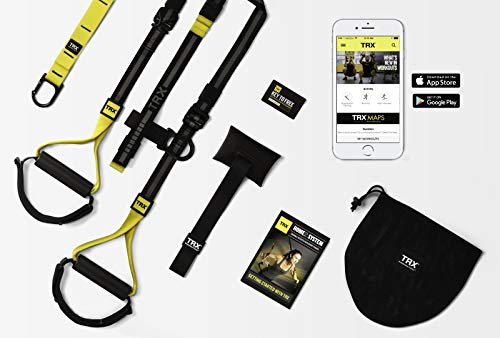 TRX Home 2 Suspension Trainer System Design & Durability| Includes Two Anchor Solutions