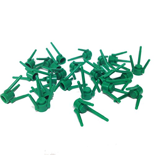 Lego Parts: Plant Flower Stems (PACK of 24 - Green) by Parts/Elements - Plants