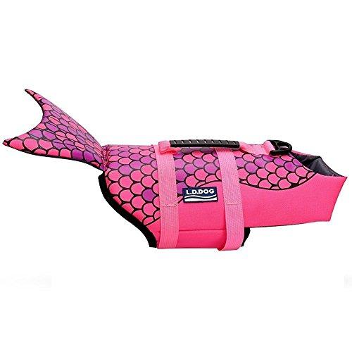 WOpet Shark Fin Dog Life Jacket