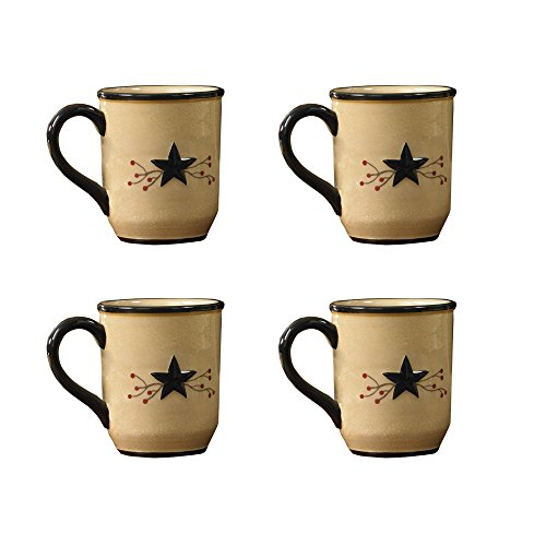 Park Designs Star Vine Mug Set