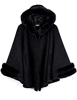 fur lined cape
