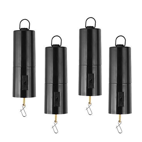 perfk Drehmotor mit Batteriebetriebenem Windspiel, 4er Windspinner Motor Drehmotor für Windspiel, Batteriebetriebe