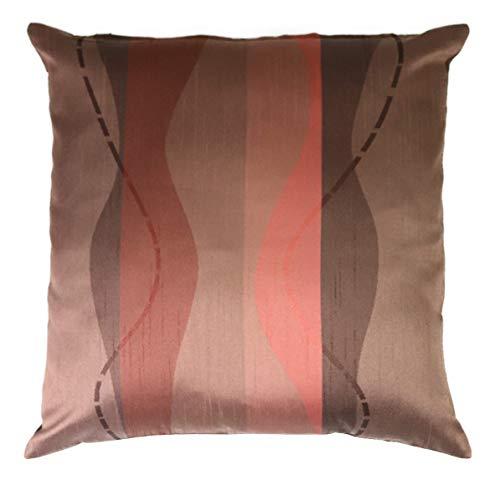 Kussenhoes Salvia decoratief kussen sofakussen modern design cadeau-idee ca. 40 x 40 cm bruin/koper