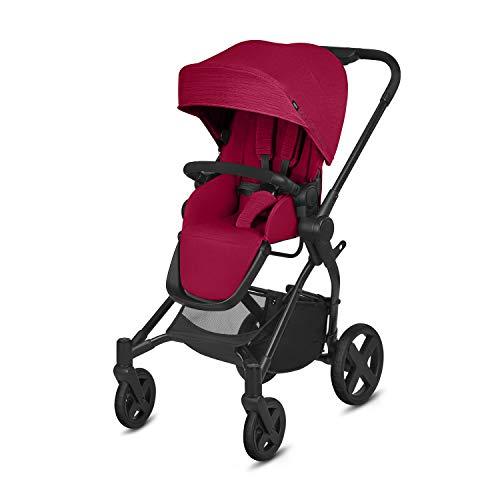cbx Kinderwagen Kody mit wendbarem Sportsitz, Inkl. Regenverdeck, Ab Geburt bis 15 kg, Crunchy Red