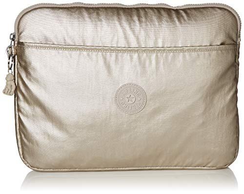 Kipling 13' Laptop Sleeve, Cloud Metal