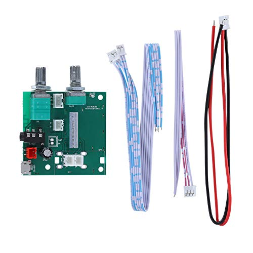 Módulo De Placa Digital AMP, Placa Amplificadora De Potencia Digital 2.1 20W Bluetooth 5.0 Amplificador Estéreo De 5 V Canales para Aplicaciones De Altavoces Activos
