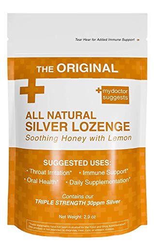 Original All Natural Silver Lozenges - Soothing Honey with Lemon: The...
